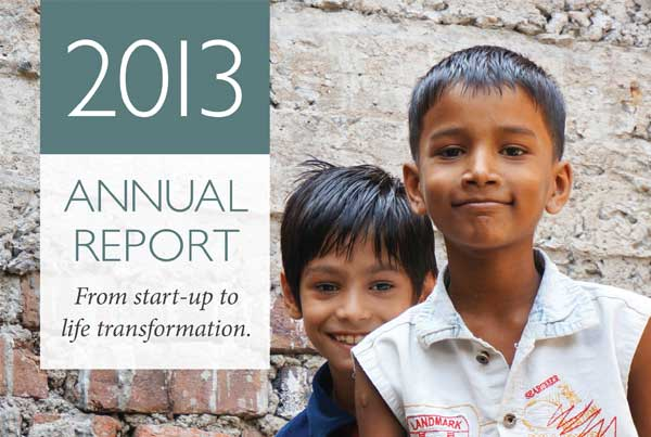 Jesus' Economy Annual Report design