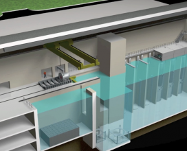 Nuscale reactor 3D animation