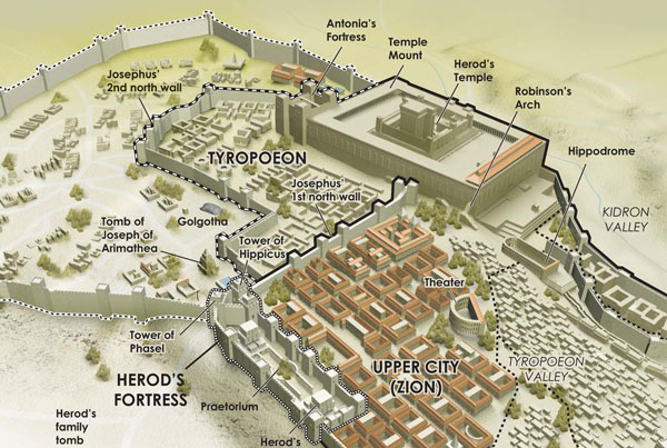 Ancient Jerusalem Infographic
