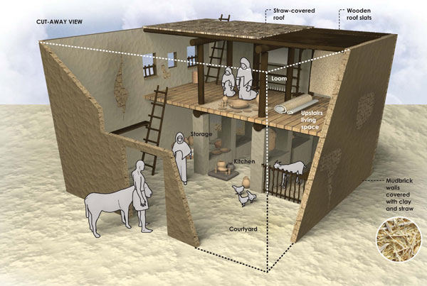First-Century Israelite House Infographic