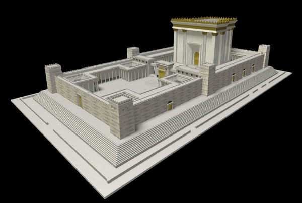 Herod's Temple Animation