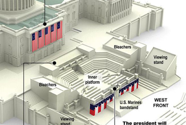 57th Inauguration Infographic