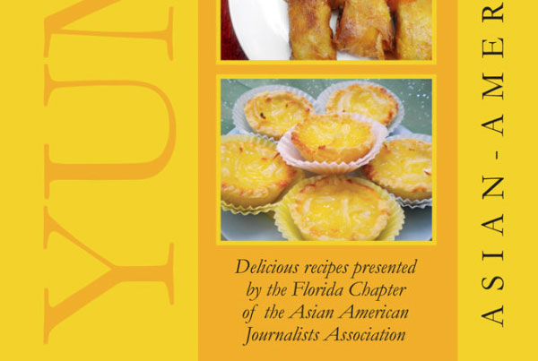 AAJA cook book design