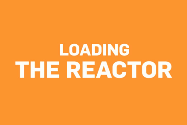 NuScale Animation Loading the Reactor