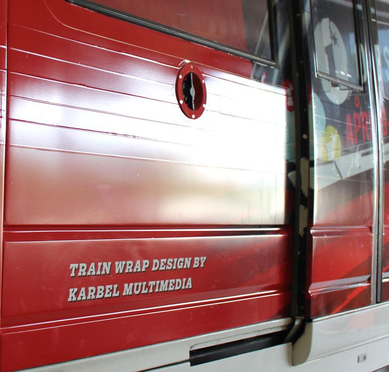 karbel train design credit
