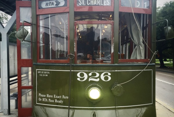 New Orleans trolley image