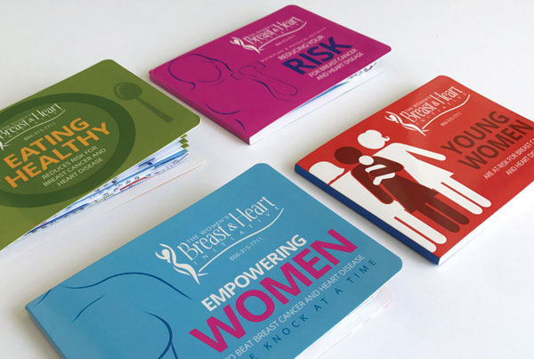 Women's Breast & Heart Initiative designs