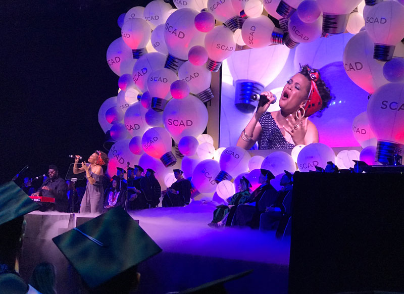 Andra Day SCAD 2017 commencement